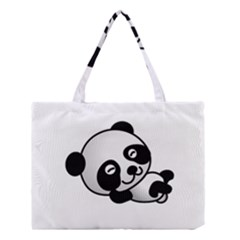 Cute Panda Medium Tote Bag
