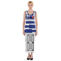 Droide Astromec¨?nico Serie R2 Fitted Maxi Dress
