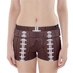 Football Ball Boyleg Bikini Wrap Bottoms