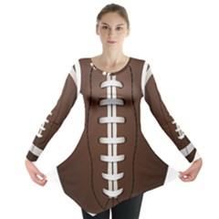 Football Ball Long Sleeve Tunic