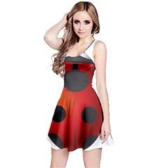 Ladybug Insects Reversible Sleeveless Dress