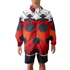 Ladybug Insects Wind Breaker (Kids)