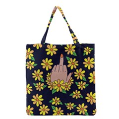 Middle Finger Fab Grocery Tote Bag