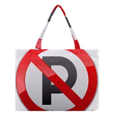 No Parking Prohibition Sign Clipart Medium Tote Bag