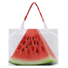 Piece Of Watermelon Medium Zipper Tote Bag