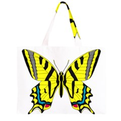 Simple Butterfly Vector Large Tote Bag