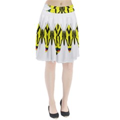 Simple Butterfly Vector Pleated Skirt