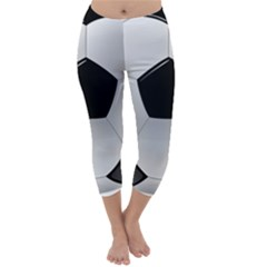 Soccer Ball Capri Winter Leggings