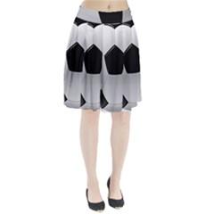 Soccer Ball Pleated Skirt