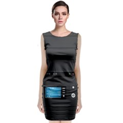 Standard Computer Case Front Classic Sleeveless Midi Dress