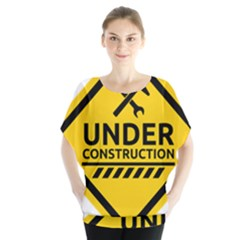 Under Construction Warning Sign Clipart Blouse