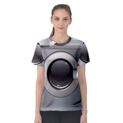 Washing Machine Women s Sport Mesh Tee