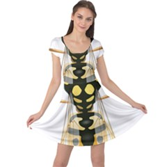 Wasp Cap Sleeve Dresses
