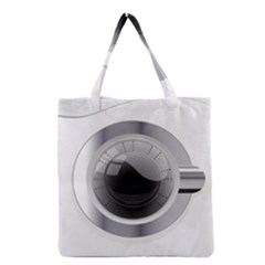 White Washing Machine Grocery Tote Bag