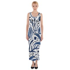 Art And Light Dorothy Fitted Maxi Dress