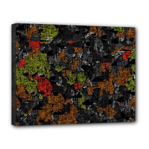 Autumn colors  Canvas 14  x 11