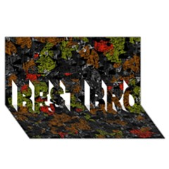 Autumn colors  BEST BRO 3D Greeting Card (8x4)