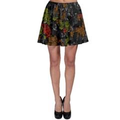 Autumn colors  Skater Skirt
