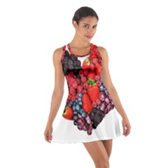 Berry Heart Cotton Racerback Dress