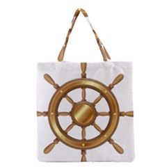 Boat Wheel Transparent Clip Art Grocery Tote Bag
