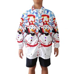 Snowman Wind Breaker (Kids)