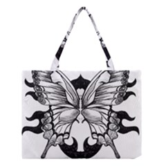 Butterfly Wings Tattoo Medium Tote Bag
