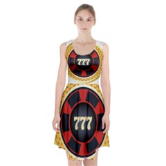 Casino Chip Clip Art Racerback Midi Dress
