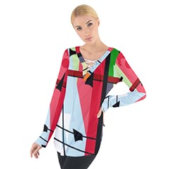 Window Women s Tie Up Tee