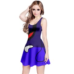 Night duck Reversible Sleeveless Dress