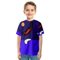 Night duck Kids  Sport Mesh Tee