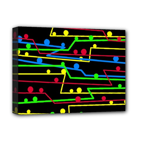 Stay in line Deluxe Canvas 16  x 12
