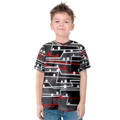 Stay in line Kids  Cotton Tee