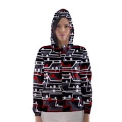 Stay in line Hooded Wind Breaker (Women)