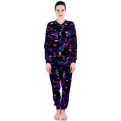 Purple Galaxy Onepiece Jumpsuit (ladies)