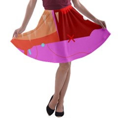 Mythology  A-line Skater Skirt