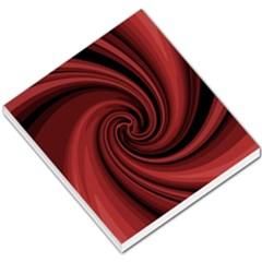 Elegant Red Twist Small Memo Pads