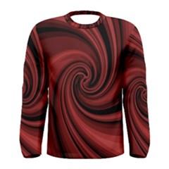 Elegant red twist Men s Long Sleeve Tee