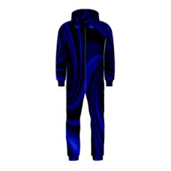 Blue decorative twist Hooded Jumpsuit (Kids)