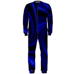 Blue decorative twist OnePiece Jumpsuit (Men)