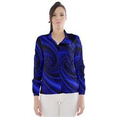 Blue decorative twist Wind Breaker (Women)