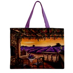 Lavender Medium Tote Bag