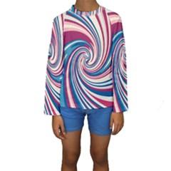Lollipop Kids  Long Sleeve Swimwear