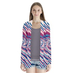 Lollipop Drape Collar Cardigan