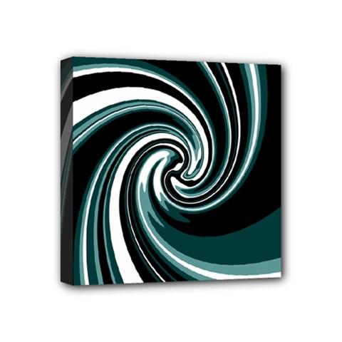 Elegant twist Mini Canvas 4  x 4