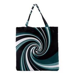 Elegant twist Grocery Tote Bag