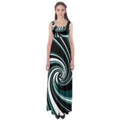 Elegant twist Empire Waist Maxi Dress