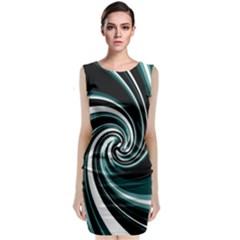 Elegant twist Classic Sleeveless Midi Dress