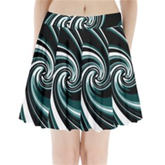 Elegant twist Pleated Mini Skirt