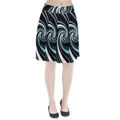 Elegant twist Pleated Skirt