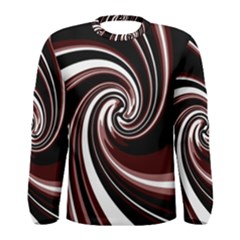 Decorative twist Men s Long Sleeve Tee